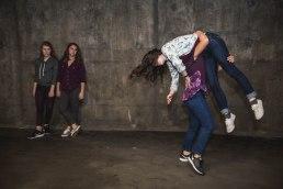 Clarissa K. Ko, Charlotte Baldiviez, Lara D'Emilio, & Sydney Lozier, Photo by: Woo Nguyen